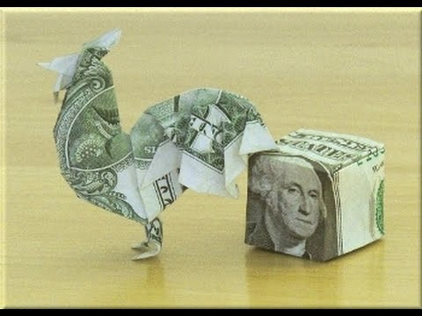 Dollar Origami Guitar Tutorial - How to make a Dollar Origami ... | 1080x1440