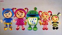 Finger Family Team Umizoomi | Nursery Rhymes for Children | Finger Family Kids Song