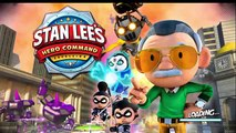 Stan Lees Hero Command - Gameplay Walkthrough iOS/Android