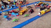 COOL Ball Pit Monster Trucks, Hot Wheels, Playground, TRAINS, Dinosaurs, Colors for Childr