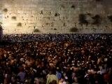 Mur des lamentations la veille de Kippour