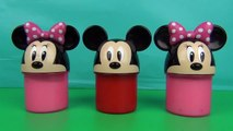 Peppa pig Clay Surprise Eggs Surprise Foam Cups Ice Cream Cups Disney Minnie Mouse Toys Di