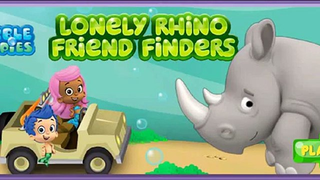 Bubble Guppies: Lonely Rhino Friend Finders. Games online