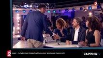 ONPC : Clémentine Célarié refuse de serrer la main de Florian Philippot (vidéo)