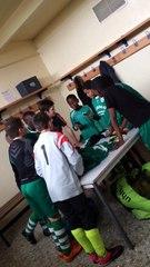 U13 B contre Talant | Chant de la victoire 15-2