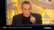 SLT : Thierry Ardisson invite Bruno Masure à venir s'expliquer dans son émission (vidéo)