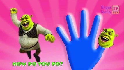 Finger Family and More Finger Family Songs - Shrek Finger family Nursery Rhymes For Childr