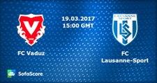Gabriel Torres Goal HD - Vaduz 0 - 1 Lausanne - 19.03.2017
