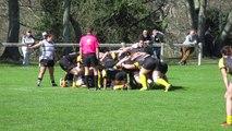 Stade Montois rugby féminin 34 - 10 Stade Poitevin Rugby  2ème essai Margaux Auvinet