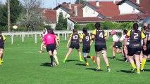 Stade Montois rugby féminin 34 - 10 Stade Poitevin Rugby  6ème essai Margaux Auvinet
