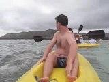Balade en kayak plage de Poe