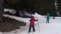Ski de fond aux Saisies Mars 17