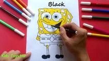 Coloring Pages Peppa Pig SpongeBob / Coloring Book / Learn Colors / Collection #57