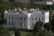 Allarme bomba alla Casa Bianca, fermata una persona
