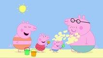 в и к клип свинья Ла Ля в в Пеппа свинья пляж пляж