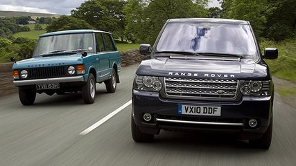 Range Rover: old versus new video