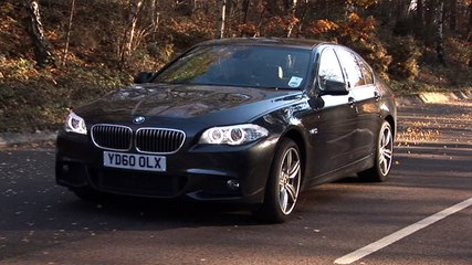 BMW 535d video review 90-sec verdict
