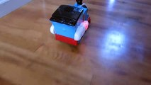 THOMAS STEAM RATTLE ROLL ROCK AND ROLL SINGING RC TANK ENGINE TRAIN RACE-nnyAm