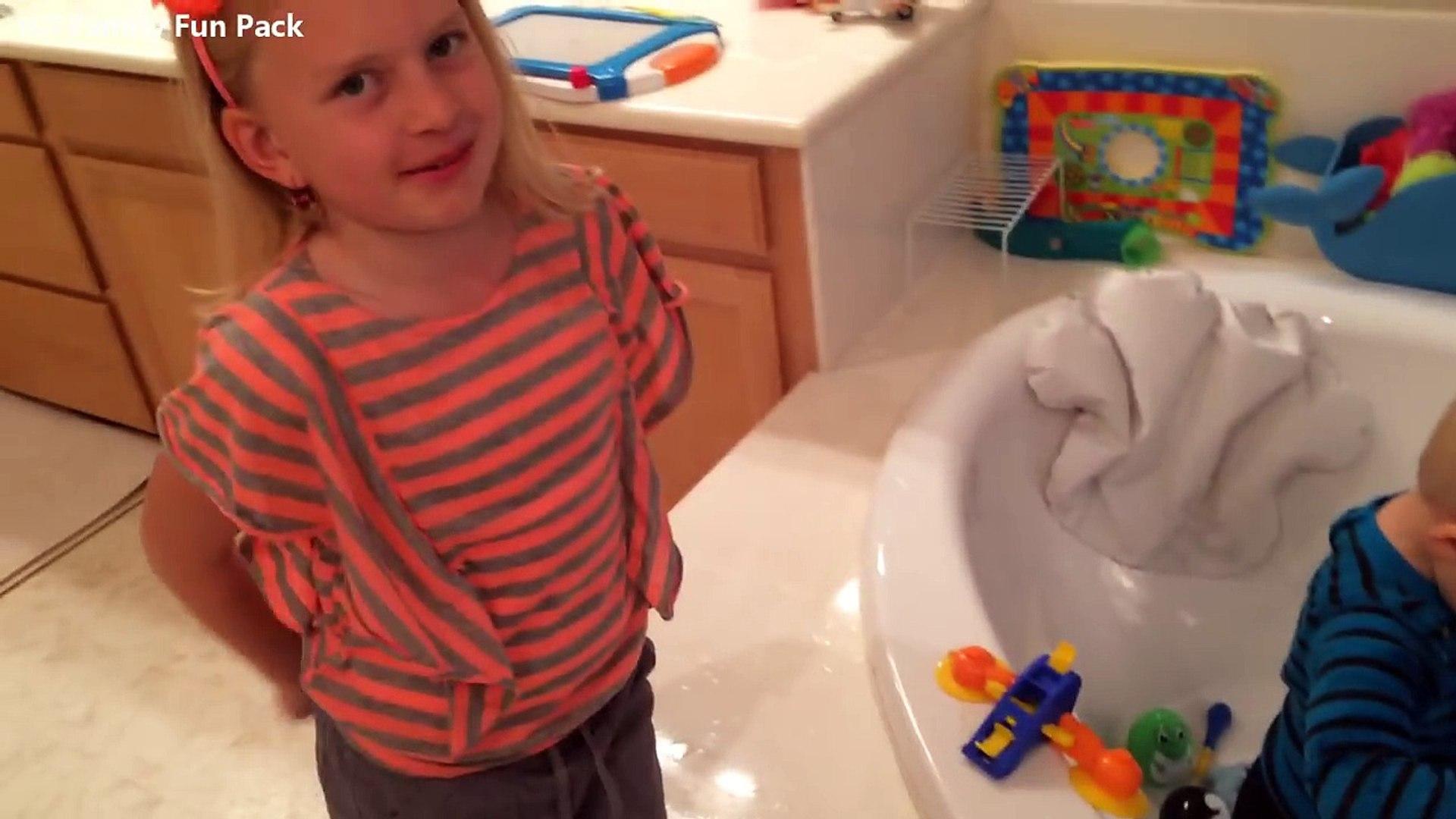 Women bath in clothes