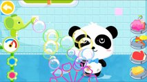 Baby Pandas Bath Time by BabyBus Kids Games - Learn How to Bath a Baby - Children & Toddl