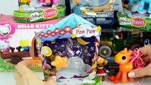 Frozen Disney Princess My Little Pony Hello Kitty Filly Shopkins Winx Unboxing Kinder Surp