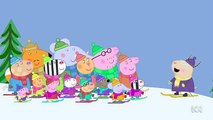 Peppa Pig Season 4 Episode 49 in English - Snowy Mountain