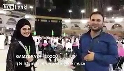 News Anchor Proposed A Girl In Khana Kaba