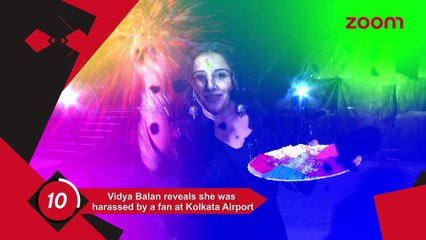 Vidya Was Harassed By A Fan,Amitabh Launches An App On Breast Cancer Awareness