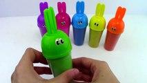 DIY Kinetic sand Sand Hello Kitty Clay Learn Colors Popsicle Ice Cream Bunny Molds Clay Slime-kmXN