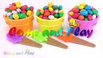 Giant M&M Ice Cream Surprise Toys Chupa Chups Chocolate Kinder Surprise Paw Patrol Learn Colors Kids-4-3T