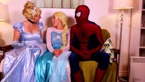 Frozen Elsa Turns into a BAD BABY! w_ Spiderman Pink Spidergirl Joker Anna! Funny Superhero Video  -)-xWa6