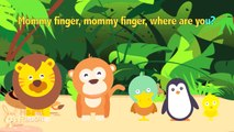 FINGER FAMILY SONG ♫ | Nursery Rhymes | Kids Songs Collection | Pancake Manor