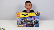 LEGO Batman Movie The Batmobile Set Toys Unboxing And Assembling Fun With Ckn Toys-1EP