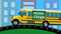 Learning Colors for Toddlers - Learn Colours Street Vehicles, School Buses, Big Rig Trucks for Kids-vP