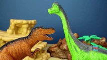 Animal Planet Dinosaurs Toys Collection Herbivorous Carnivorous Fun Facts - Wild Animal Toys For Kid-coFC