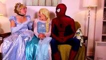 Frozen Elsa Turns into a BAD BABY! w_ Spiderman Pink Spidergirl Joker Anna! Funny Superhero Video  -)-xWa6iOV