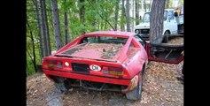 Abandoned Supercars and Luxury cars around the World - Ferrari Lamborghini Bmw Mercedes