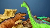 Animal Planet Dinosaurs Toys Collection Herbivorous Carnivorous Fun Facts - Wild Animal Toys For Kid-co
