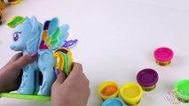 ♥ My Little Pony Pinkie Pie Play-Doh How to Make MLP Pinkie Pie Plasticine Creation