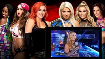WWE Alexa Bliss vs Team Becky Lynch