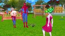 Frozen Elsa SpiderGirl Hulk Spiderman Vs Joker Killer Clown Venom Scream Animals Funny Sup