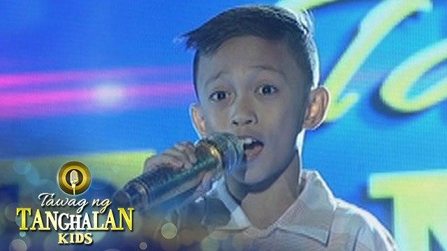 Tawag ng Tanghalan Kids: Bench Ivan Nicanor | All Of A Sudden