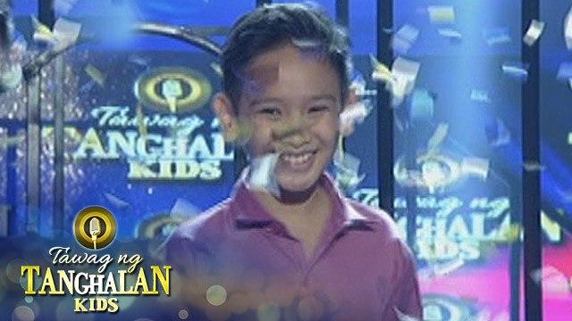 Tawag ng Tanghalan Kids: Justine Tan gets the golden mic from Bench Ivan