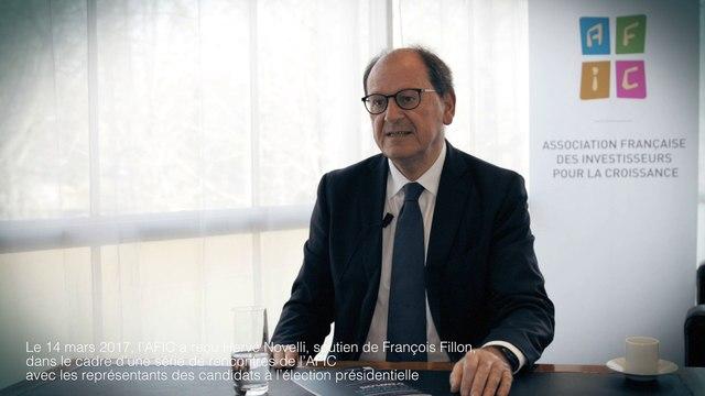 Spécial Élection Présidentielle 2017 : interview d'Hervé NOVELLI, soutien de François FILLON