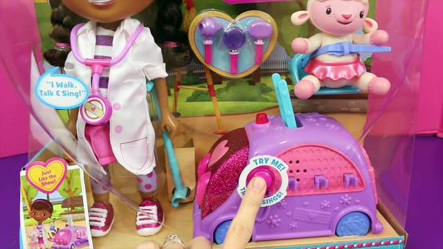 Doc McStuffins Doc Is In Clinic Hallie Lambie Disney Junior Doc McStuffins Toy House Disne