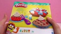 Création de gâteaux Play-Doh – Faire des gâteaux en pâte à modeler | Démo | Gâteaux à fair