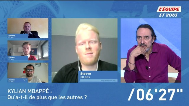 Foot - L'Equipe et vous (extrait) : Est-on trop pressé avec Kylian Mbappé ?