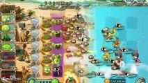 Plantas Vs Zombies 2: Nuevas Plantas De Castaño Escuadrón De Grandes Olas De La Playa! iOS/Android