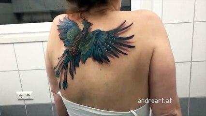 Izgleda kao normalna tetovaža, ali pogledajte šta se dogodi kad pomjera ramena!