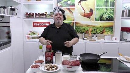 Como hacer relleno de carne picante | Javier Romero